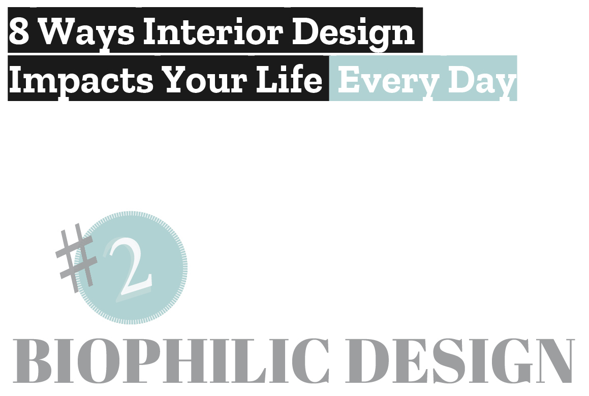 BIOPHILIC DESIGN: 8 WAYS INTERIOR DESIGN IMPACTS YOUR LIFE EVERY DAY