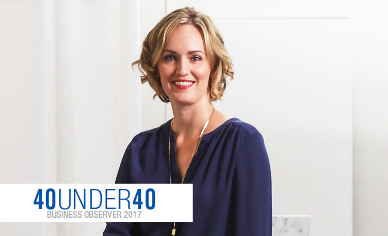 "Angela Rodriguez Named ""40 Under 40"""
