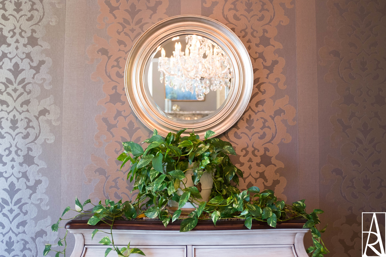 Traditional dining room by interior designer Angela Rodriguez Interiors