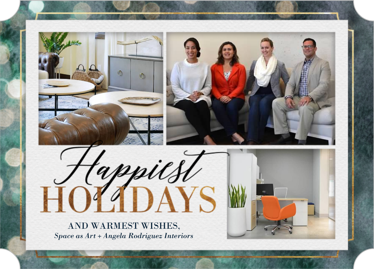Happy Holidays from Angela Rodriguez Interiors