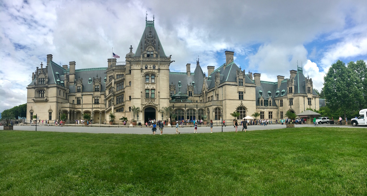 Exterior view of Biltmore Estate