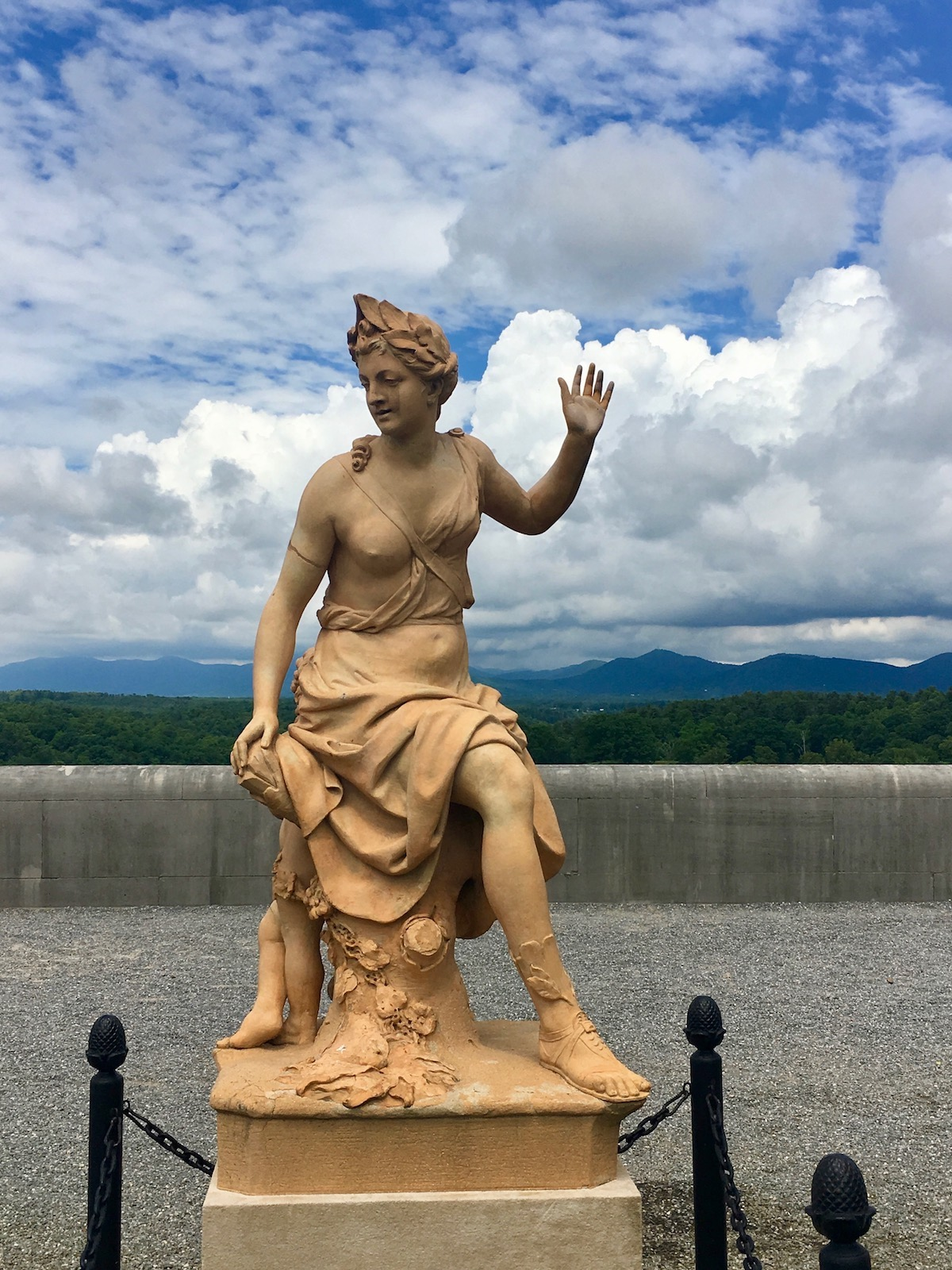 Biltmore Estate statues